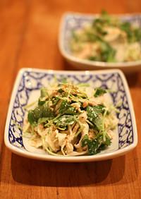 【簡単副菜】切り干し大根と三つ葉のサラダ