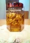 胡桃の蜂蜜漬け