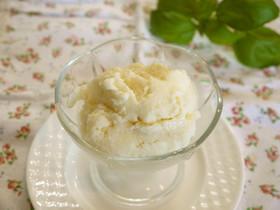 簡単安心ヘルシー♫ 豆腐アイスクリーム♡