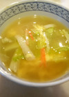 簡単☆かにかまレタス中華風スープ