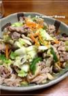 肉ふわっ、野菜シャキッ★塩麹の豚菜炒め