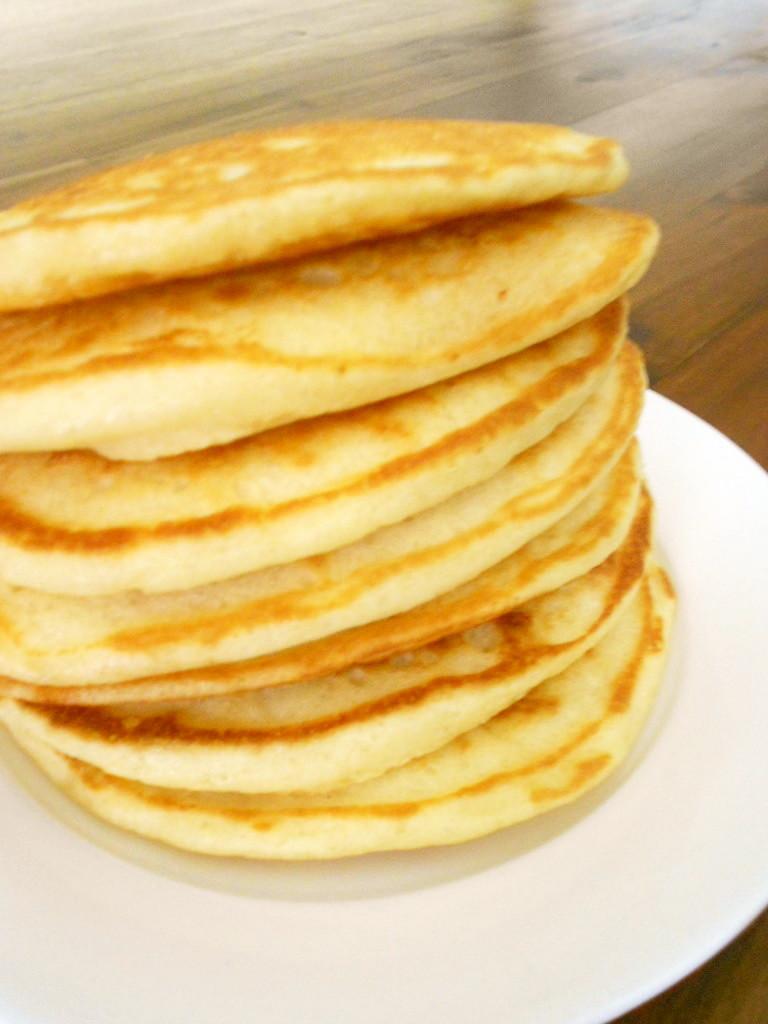 バターミルク(ヨーグルト)パンケーキ