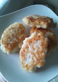 【離乳食・後期】鳥と豆腐ふわふわナゲット