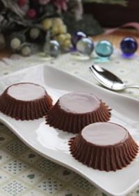 寒天デザート☆玉子なしで濃厚チョコプリン