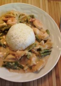 アメリカで☆Panang Curry 2