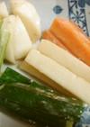 塩麹さん☆発酵トリオde簡単漬物!