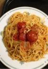 トマトの塩麹パスタ