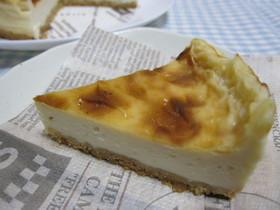 卵不使用☆お手軽チーズケーキ
