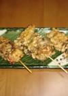 鶏肉とまいたけの天ぷら