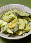 塩麹マヨdeきゅうりアボカドゆで卵サラダ