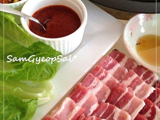 サムギョプサル レシピ