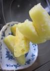 。。凍らせて。。パイナップル。。