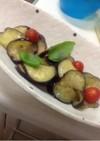 とろける☆すし酢で超簡単茄子マリネ