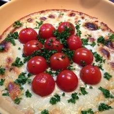 ミニトマトのブルーチーズオーブン焼
