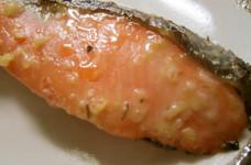 少ない量で☆塩麹を使った鮭の西京漬け風