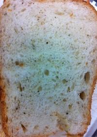 HBで天然酵母のダブルチーズパン