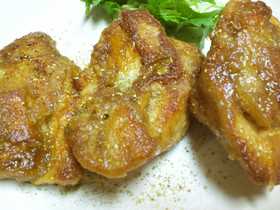 鶏むね肉のしっとり~山椒焼き~