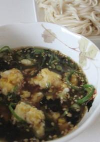炒り卵入り✦具だくさん麺つゆ♪