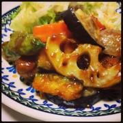 ☆簡単☆鶏肉と野菜の黒酢あん??の写真