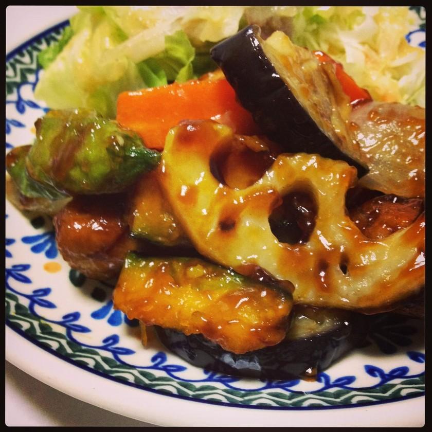 ☆簡単☆鶏肉と野菜の黒酢あん??