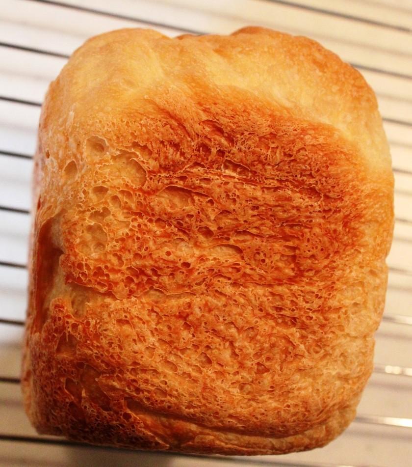 バターなし!牛乳なし!HBで食パン