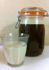 粉コーヒーde手作りカルーア!
