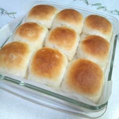 塩麹でもちふわ*ノンオイル*ちぎりパン