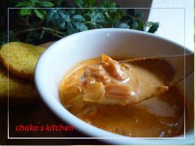レンズ豆のエスニックトマトカレースープ