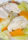 スチーマーで鶏肉と野菜蒸し☆