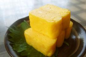 お酢パワー☆黄金色の甘い卵焼♡