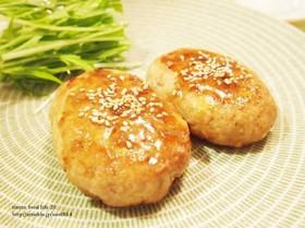 豚ひき肉×豆腐のふわふわつくね♪