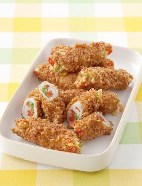 【栄養士直伝】野菜たっぷり肉巻きカツ