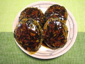 リメイク☆ひじきの煮物で鶏つくね