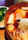 ☆絶賛武蔵野肉汁うどん(つけ麺)