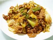 簡単*キャベツと豚肉の味噌炒め~回鍋肉風の写真