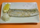 冷凍太刀魚の塩焼き