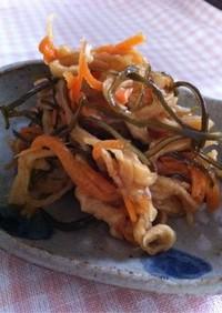 【菜食】切干大根のはりはり漬け