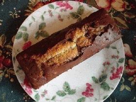 ホットケーキ粉で手間いらずのメープルマーブルケーキ