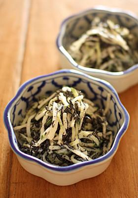【簡単副菜】ひじきと大根のマヨサラダ
