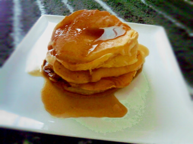 HMで簡単☆ハワイのふわふわパンケーキ