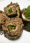 夏にぴったり♡梅風味そば寿司