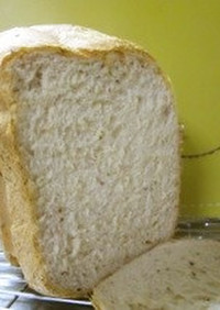 HB☆米粉入り甘納豆で豆食パン