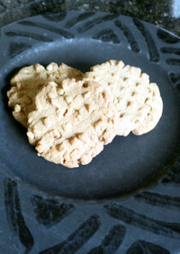薄力粉不使用ピーナツバタークッキー