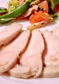 放っておくだけ。手作りの鶏ハム・豚ハム