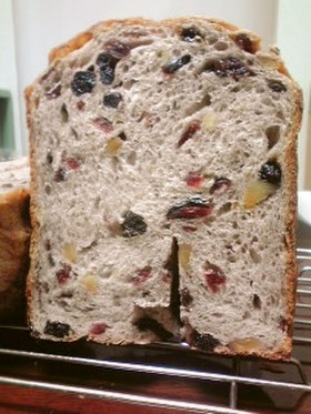 HB☆クランベリーブルーベリーくるみパン