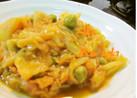 ネパール料理=キャベツのカレー