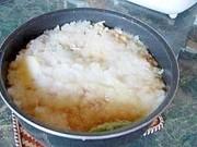 節電~季節はずれの雪鍋~夏の鍋料理の写真