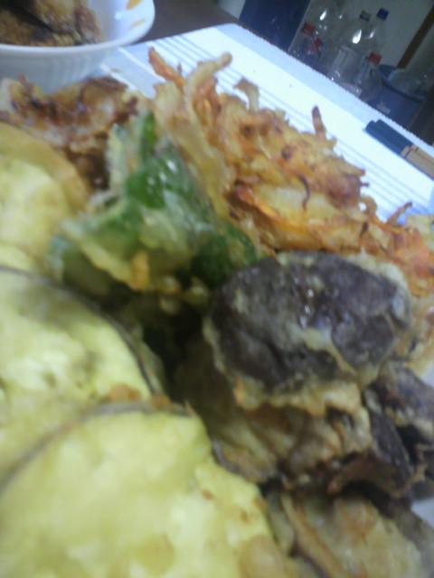 野菜と椎茸の天ぷら