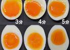 簡単半熟卵の作り方・固さは好みで3~8分