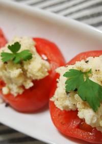 トマトとおからのサラダ